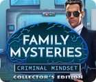 Family Mysteries: Criminal Mindset Collector's Edition гра